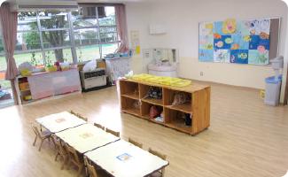 3・4歳児保育室
